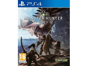 Monster Hunter: World (PS4) NYTT / INPLASTAD