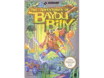 The Adventures of Bayou Billy - NES - Komplett