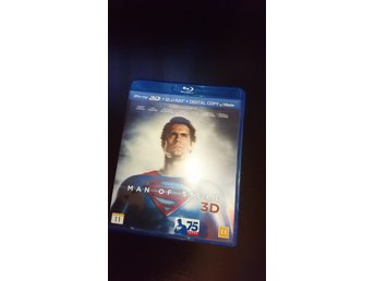 Man of Steel blueray 3D