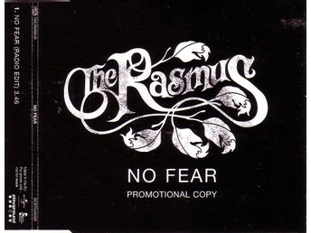 The Rasmus-No fear (radio edit) / Promo CD-singel