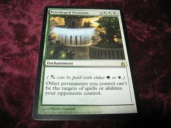 PRIVILEGED POSITION RARE (GRÖN/VIT RAVNICA)