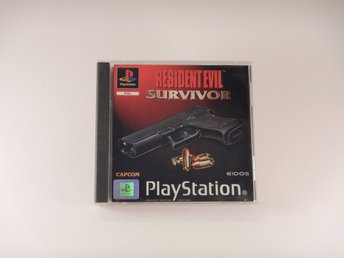 Playstation / 1 Ps1 -- Resident Evil Survivor  --  PAL