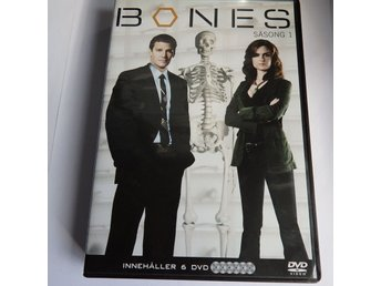 6 DVD Action: Samlings BOX - Bones 1 - Hela säsong 1 BONES #124
