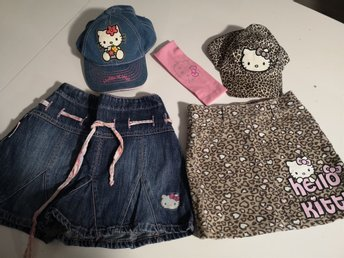 Jättefint Hello Kitty paket i stl 116