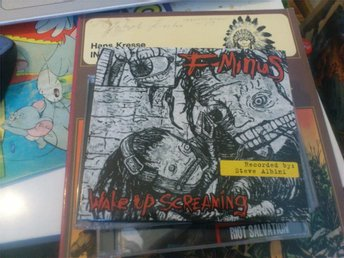 F-Minus – Wake Up Screaming (DIGIPACK)