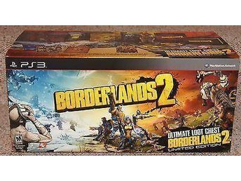 Borderlands 2 Ultimate Loot Chest Collectors Edition PS3 spel NYTT OCH INPLASTAT