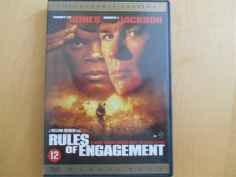RULES OF ENGAGEMENT. TOMMY LEE JONES OCH SAMUEL L. JACKSON.