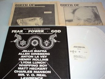 Various (The Birth Of Tragedy Magazine`s Fear, Power, God) CFY Records, USA87