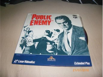 Public Enemy - 1st Laserdisc