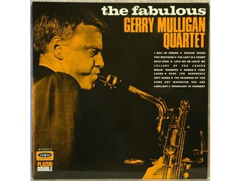 the fabulous GERRY MULLIGAN QUARTET / dubb.album VOGUE DP 07 NM!!