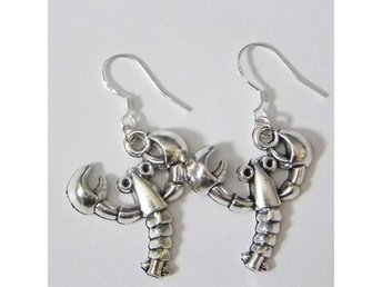Hummer örhängen / Lobster earrings