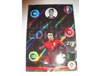 Panini Adrenalyn XL EURO 2016 Limited Edition - CRISTIANO RONALDO - Portugal