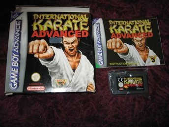 INTERNATIONAL KARATE ADVANCE GAMEBOY ADVANCE (NY OANVÄND)