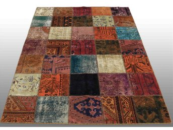 Carpet patchwork, ca 210x150 cm