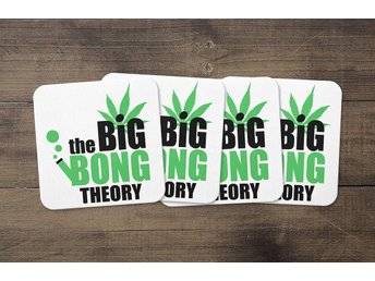 The Big Bong Theory Coasters 4 Pack Underlägg Underlag