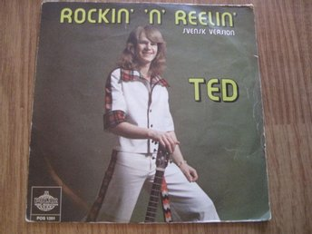 "Ted Gärdestad - Rockin' n' reelin'/Gonna make you my angel 7"" singel 1975"