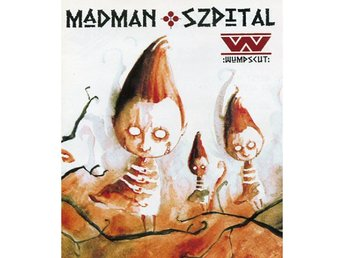 Wumpscut ‎–Madman szpital cd super jewel case EBM / industri