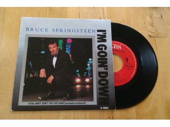 "BRUCE SPRINGSTEEN - I´m Going Down 7"" Rock"