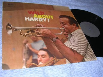 Harry James - Wild About Harry LP trumpet Norge org 50s VG+