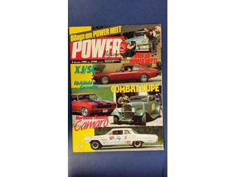 Power Magazine nr 3 1989: Plymouth Fury 1959, Lincoln 1947, Camaro Z28 1969