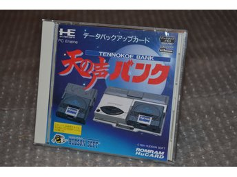 Tennokoe Bank Backup Card - Nec PCengine - Japan - jap - jp
