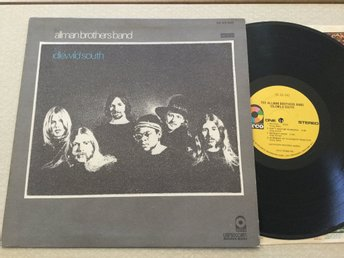 Lp Allman brothers band-Idlewild South rare US org på Atco