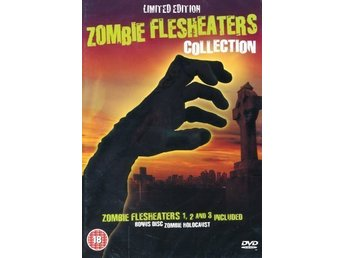 Zombie Flesheaters Collection.. (4-disc).. Ny, Inplastad.. OOP!!