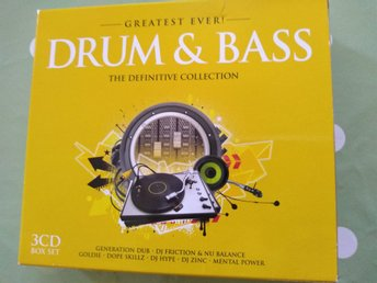 DRUM&BASS  The Definitive Collection  3 CD box set