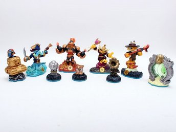 9st Skylanders Swap force Figurer för PS3,PS4,X360,Xone,Wii,WiiU