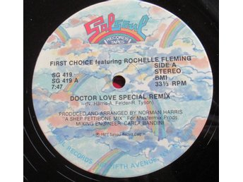 "12"" maxi: FIRST CHOICE Doctor Love (Salsoul, USA 1977)"