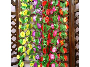 1 String Simulation Artificial Flower Arch Wall Wedding D...