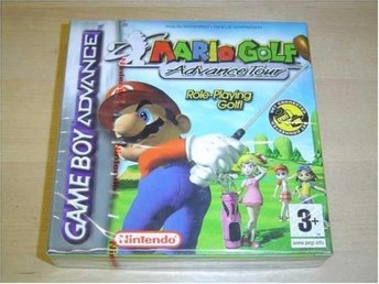 Mario Golf Advance Tour Nintendo Gameboy Game Boy Advance GBA *NYTT*