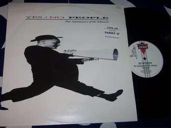 "YES NO PEOPLE - THE ADVENTURES OF MR JJOHNSON 12"" 1987 REMIX"