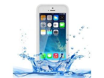 Tunnt Stötsäkert Vattentätt mobilskydd Vit Iphone 5, 5s, SE - Gävle - Tunnt Stötsäkert Vattentätt mobilskydd Vit Iphone 5, 5s, SE - Gävle