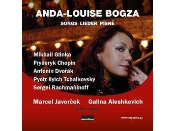 Anda-louise Bogza; Marcel Javorcek;: Songs Li... (CD) - Nossebro - Anda-louise Bogza; Marcel Javorcek;: Songs Li... (CD) - Nossebro