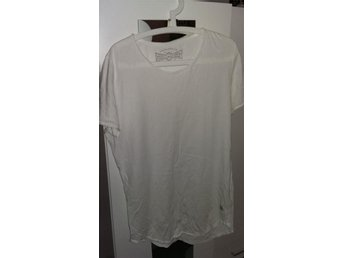 Vit jack and jones t-shirt strl XL