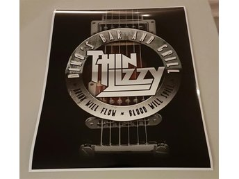 THIN LIZZY DINO´S BAR AND GRILL POSTER