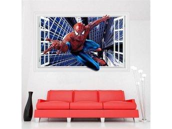 Väggdekor Grå : Super cool spindelmannen vÄggdekor d verklighetstrogen ny