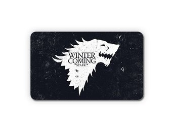 Game Of Thrones Direwolf House Stark Wolves Kylskåpsmagnet