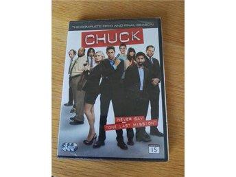 Chuck säsong 5 (Dvd, Ny och inplastad) UTGÅTT! Sista säsongen! - Söderköping - Chuck säsong 5 (Dvd, Ny och inplastad) UTGÅTT! Sista säsongen! - Söderköping