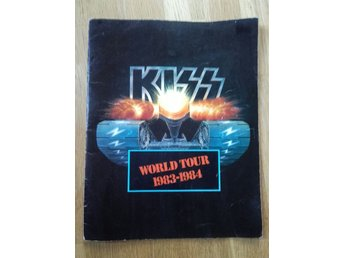 kiss world  tour 83-84