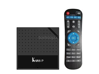 Smart TV Box Android 7.1 Octa Core KM8P Netflix IPTV Kodi EU Plug 1G+8G
