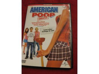 THE AMERICAN POOP MOVIE - UNRATED - KOMEDI - DVD