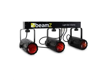 Beamz 3 Some LED-ljuseffekt-set