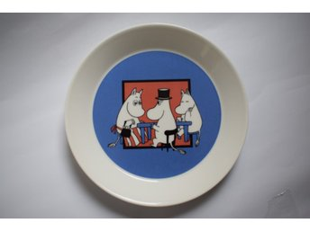 Ny mumin tallrik - ETIKETT -  (2011-2013) Moomin plate Together