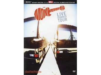 DVD  THE MONKEES - LIVE SUMMER TOUR - NY INPLASTAD