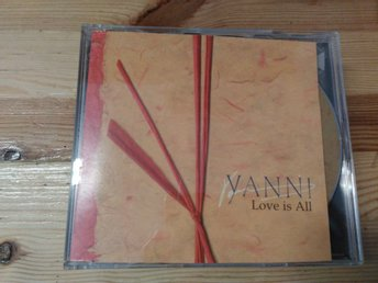 Yanni - Love Is All, Promo, CDs