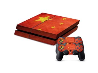 PS4 Skins Kina Flagga