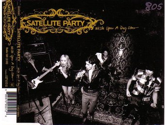 Satellite Party-Wish upon a dog star / Promo CD-singel