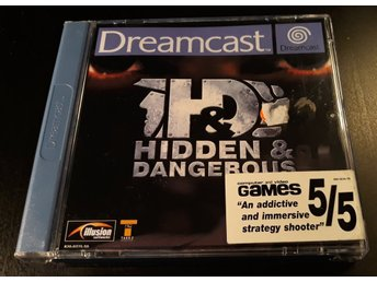 H&D Hidden & Dangerous - Komplett - Sega Dreamcast